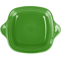 Homer Laughlin 1456324 Fiesta Shamrock 10 3/4 inch Square Tray with Handles - 4/Case