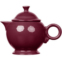 Homer Laughlin 496341 Fiesta Claret 44 oz. Covered Teapot - 4/Case