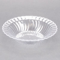 Fineline Flairware 212-CL Clear 12 oz. Plastic Bowl - 180/Case