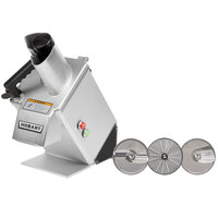 Hobart FP100-1A Continuous Feed Food Processor with 3 Plates - 1/3 hp