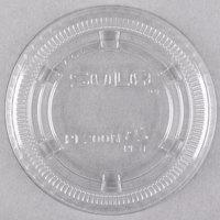 Dart Solo PL200N Medium Clear Plastic Souffle / Cup Lid   - 2500/Case
