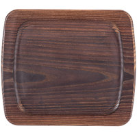 American Metalcraft AWB1210 12 inch x 10 inch Rimmed Ash Wood Serving Board