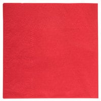 Hoffmaster 180311 Red Beverage / Cocktail Napkin - 1000 / Case