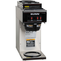 Bunn 13300.0004 VP17-3 Low Profile Pourover Coffee Brewer with 3 Warmers