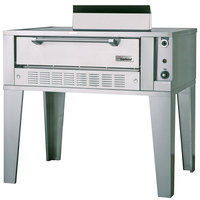 Garland G2071 Liquid Propane 55 1/4 inch Single Deck Pizza Oven - 40,000 BTU