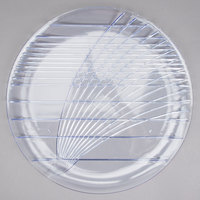 Carlisle 641607 Festival 16 inch Round Plastic Catering Tray