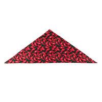 36 inch x 15 inch Chili Pepper Patterned Neckerchief / Bandana