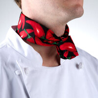 36 inch x 15 inch Chili Pepper Patterned Neckerchief / Bandana