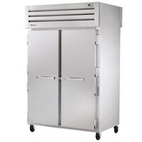 True STG2RPT-2S-2G-HC Specification Series 52 5/8 inch Solid Front, Glass Back Door Pass-Through Refrigerator