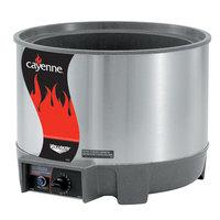 Vollrath 72021 11 Qt. Round Heat n' Serve Soup Warmer - 120V, 800W
