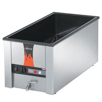 Vollrath 72051 Cayenne 28 3/4 inch x 13 3/4 inch Heat 'n Serve 4/3 Size Countertop Food Warmer - 120V, 1600W