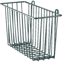 Metro H210-DSG Smoked Glass Storage Basket for Wire Shelving 17 3/8 inch x 7 1/2 inch x 5 inch