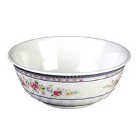 Rose 32 oz. Round Melamine Swirl Bowl - 12 / Pack