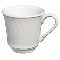 Homer Laughlin Kensington 7 oz. Bright White China Tea Cup - 36/Case