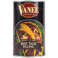 Vanee 356T3 50 oz. Can Beef Taco Filling - 6/Case