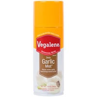 Vegalene 14 oz. Garlic Mist Cooking and Seasoning Spray - 6/Case