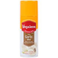 Vegalene 14 oz. Garlic Mist Cooking and Seasoning Spray   - 6/Case