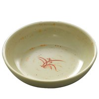 Gold Orchid 9 oz. Round Melamine Bowl - 12/Case