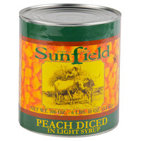 Diced Peaches in Light Syrup 6 - #10 Cans / Case