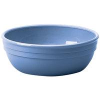 Cambro 100CW401 Camwear 12.5 oz. Slate Blue Polycarbonate Nappie Bowl - 48 / Case