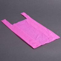 1/6 Size Magenta T-Shirt Bag - 1000 / Case