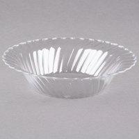 WNA Comet CWB10180C Classicware 10 oz. Clear Plastic Bowl - 18 / Pack