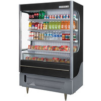 Beverage Air VM18-1-B Black VueMax Air Curtain Merchandiser 51 inch - 18 Cu. Ft.