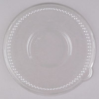 Genpak LW932 Clear Dome Lid for 16, 24, and 32 oz. Laminated Foam Bowls - 50 / Pack