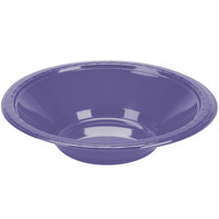 Creative Converting 28115051 12 oz. Purple Plastic Bowl - 240 / Case