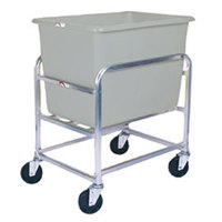 Winholt 30-6-SS/GY Stainless Steel Bulk Mover with 6 Bushel Gray Tub
