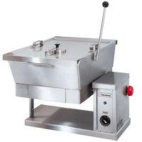 Cleveland SET-10 10 Gallon Electric Countertop Tilt Skillet - 208V, 3 Phase
