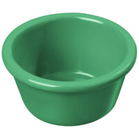 Carlisle S28509 4 oz. Green Smooth Melamine Ramekin - 48/Case