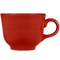 Homer Laughlin 452326 Fiesta Scarlet 7.75 oz. Cup - 12/Case