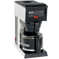 Bunn 21250.0000 A10 10 Cup Pourover Coffee Brewer with 1 Lower Warmer - 120V