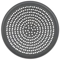 American Metalcraft SPHCTP16 16 inch Super Perforated Hard Coat Anodized Aluminum Wide Rim Pizza Pan