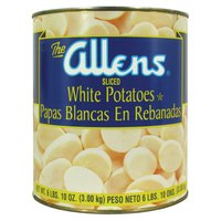 Sliced White Potatoes - (6) #10 Cans / Case