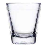 GET SW-1409 (SW1409) 1.5 oz. SAN Plastic Shot Glass 24 / Case