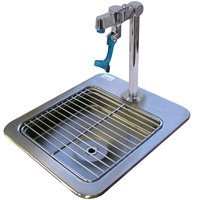 Advance Tabco DI-1-9 Drop In Filler Station 9 inch x 9 inch x 3 inch