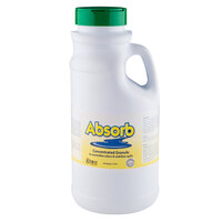 2 lb. Noble Chemical Absorb Odor Neutralizer / Spill Stabilizer 6/Case