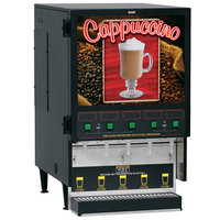 Bunn FMD-5 Cappuccino / Espresso Machine Hot Beverage Dispenser with 5 Hoppers 120V (Bunn 34900.0000)