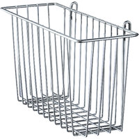 Metro H212C Chrome Storage Basket for Wire Shelving 17 3/8 inch x 7 1/2 inch x 10 inch