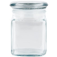 Anchor Hocking 95943 4 oz. Square Fountain Spice Jar with Lid - 6 / Case