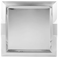 Vollrath 82091 Square Stainless Steel Serving Tray with Handles - 15 3/4 inch x 15 3/4 inch