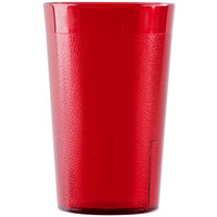 Cambro 950P156 Colorware 9.8 oz. Ruby Red Plastic Tumbler - 72 / Case