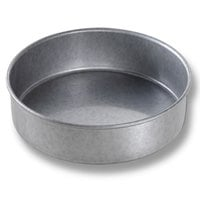 Chicago Metallic 47020 7 inch x 2 inch Aluminized Steel Round Cake Pan