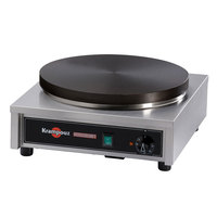 Krampouz CECIF4 17 inch x 18 inch Electric Cast Iron Crepe Maker - 3750W, 240V