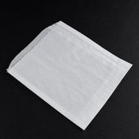 6 3/4 inch x 6 3/4 inch Dry Waxed Sandwich Bag - 2000/Case