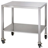Alto-Shaam 5004689 Stainless Steel Mobile Stand with Casters for 2-ASC-2E/STK Models - 21 inch