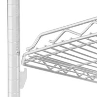 Metro HDM1436QW qwikSLOT Drop Mat White Wire Shelf - 14 inch x 36 inch