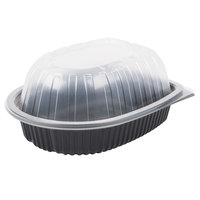 Large Microwavable Chicken Roaster Take-Out Container with High Dome Lid   - 100/Case
